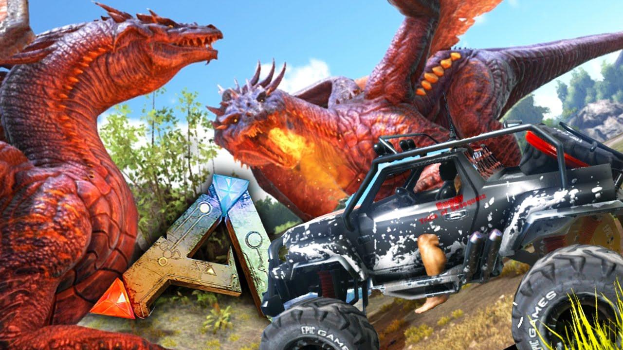 Lovely Ark Survival Modded Dragon Mod Download